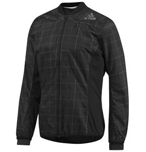 Running Jacket (Wind Jacket Adidas Smarter Jacket M, Men's, Black, Climawarm