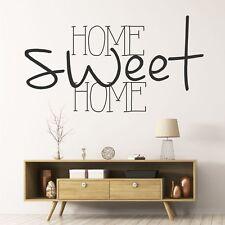 Wandtattoo Home Sweet Home Wandsticker Wandaufkleber Willkommen Spruch  KW022