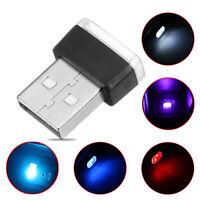 RGB Color USB LED Mini Wireless Car Interior Lighting Atmosphere Light Universal