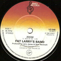 "Fat Larry's Band – Zoom Vinyl 7"" Single UK VS 546 1982"