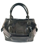 Longchamp Legend Brown Patent Leather Satchel bag, Women. MSRP +500$