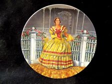 """GONE WITH THE WIND VINTAGE COLLECTOR PLATE """"MELANIE"""" 3rd ISSUE 1980"""