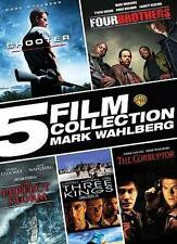 5 Film Collection: Mark Wahlberg (Shooter, Four Brothers, the Perfect Storm, Thr