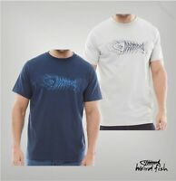 Mens Weird Fish Crew Straight Short Sleeve Jersey T Shirt Sizes from S to XXL