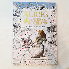 Disney Art of Coloring Adult Coloring Book  - Alice's Adventures in Wonderland