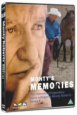 NEW SEALED DVD MONTY'S MEMORIES legendary horse whisperer Monty Roberts memoirs