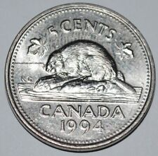 Canada 1994 5 Cents Elizabeth II Canadian Nickel Five Cent
