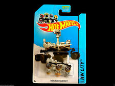 2014 Hot Wheels Mars Rover Curiosity 71/250 muddy tires variation