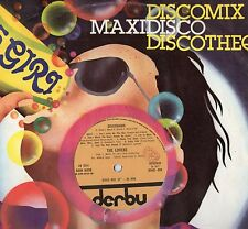 THE LOVERS disco MIX 45 giri DISCOMANIA  1977 dance