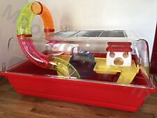 Large 60cm Hamster Cage For Hamsters Mice  With Running Tubes, Wheel Toys