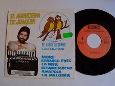 "El acordeon de JOAQUIN : De Vogeltjesdans 7"" 45T promo IBEROTEL / MALLER SG 138"