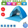 Outdoor 2-3 Persons Quick Automatic Pop up Instant Portable Cabana Beach Tent