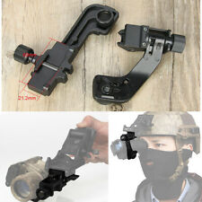 Night Vision Goggles Mount NVG J Arm Bracket for Connects Dump Truck Guide Rail