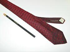 Men's Vintage Tie Necktie MAD MEN Skinny 1950s 60s MATT AUDREWS RED DIAMOND DECO