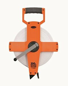 Keson NR18200 Nylon Coated Steel Blade Measuring Tape with Zero Point at Tape...