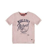 MARC O´POLO: T-SHIRT,ROT GESTREIFT/1613661 161