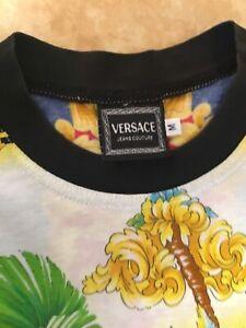 Maglietta Gianni Versace Jeans Couture in cotone e seta size M USATA.
