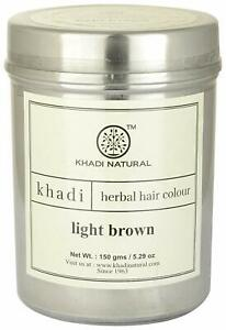 Khadi Natural Light Brown Herbal Hair Colour 150g