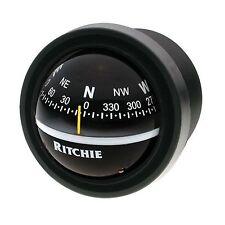 "Ritchie V-57 Explorer Dash Mount Marine Compass Black 2-3/4"""