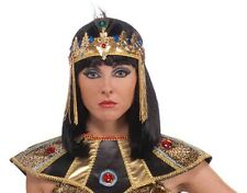 Egyptian Headband - Cleopatra Queen of Egypt Crown fnt