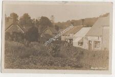 East Knoyle Street F Tuck Shop Wiltshire 1912 RP Postcard 702b