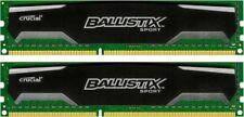 Crucial Ballistix Sport 8 GB (2x4GB) BLS4G3D1609DS1S00 DDR3 PC3-12800   #110438