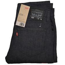 Levis 510 Hombres Vaquero Flaco Todos los tamaños Ceñido Azul Oscuro Nuevo