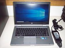 """HP Elitebook 8470P/2.6ghz Core i5 3rd gen/8GB/128GB SSD/DVD/14""""/W10Pro--NICE!"""
