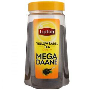 2 x Lipton Yellow Label Loose Tea MEGA DANNE 475g FREE TRACKED DELIVERY
