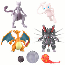 Pokemon SHODO Strikes Back Evolution Character Candy Toy Figure SET of 5