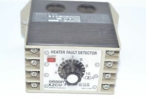 Omron K2CU-F80A-EGS Detector Switches Heater Fault Detector