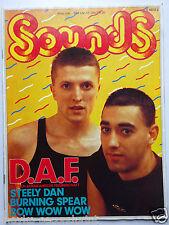 Sounds 3/1981,D.A.F.,Yellow, Steely Dan, Burning Spear, Inhalt siehe Foto