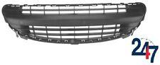 FRONT PLASTIC BUMPER CENTER GRILLE BLACK COMPATIBLE WITH PEUGEOT 207 2006-2009
