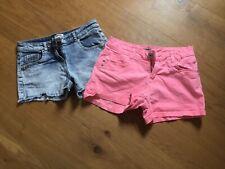 Tammy Denim Shorts X 2 Pairs Size 158 Cm