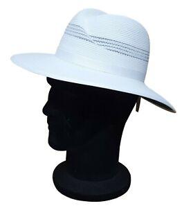 REO Headwear Hat Mens Sports Cricket Summer Hat White S - XL Green Underbrim