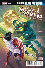 AMAZING SPIDERMAN 18 VOL 4 2015 1st PRINT COVER NM DEAD NO MORE
