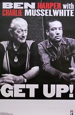 BEN HARPER WITH CHARLIE MUSSELWHITE POSTER, GET UP  (Z4)