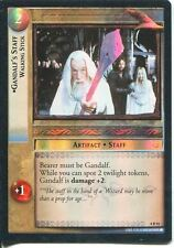 Lord Of The Rings CCG Foil Card TTT 4.R91 Gandalf's Staff, Walking Stick
