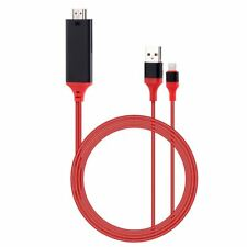 2M 8 Pines Lightning a HDMI Tv Av Cable Adaptador para Apple Ipad Iphone 5 6 7