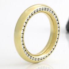 SCHÖNER KLASSIKER RING in 18K/750 Gelbgold - Brillanten 0,435 ct FW-VS - 9,3 g