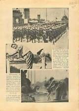 Sino-Japanese War Shanghai China/Place de la Concorde Paris 1937 ILLUSTRATION