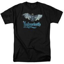 Labyrinth David Bowie Fantasy film Retro 80's adult graphic t-shirt Lab119