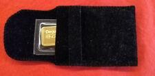 Goldbarren Degussa 10g original verpackt, verschweißt, unbenutzt