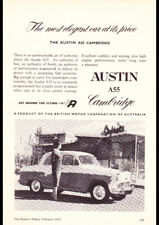 "1958 AUSTIN 8 CWT UTILITY BMC AD A4 CANVAS PRINT POSTER 11.7""x8.3"""