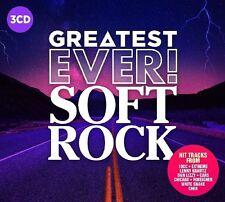 SOFT ROCK - GREATEST EVER (URIAH HEEP, SCORPIONS, NAZARETH, ...)  3 CD NEU