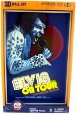 Pink Banner Pop Culture Masterworks Elvis On Tour 3-D Wall Hanging