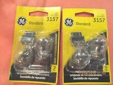 3157--GE--LOT-OF--4---Tail Light Bulb GE Lighting 3157/BP2
