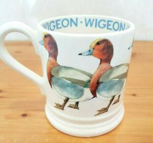 Emma Bridgewater Mug Wigeon Duck Half Pint New Rare Out Of Production Birds