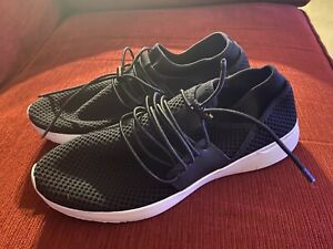 Worn Once Fitflop Airmesh Trainer Black Size 8 RRP £80
