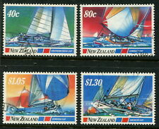 NEW ZEALAND - 1987 'YACHTING EVENTS' Set of 4 FU SG1417-1420 [B3654]
